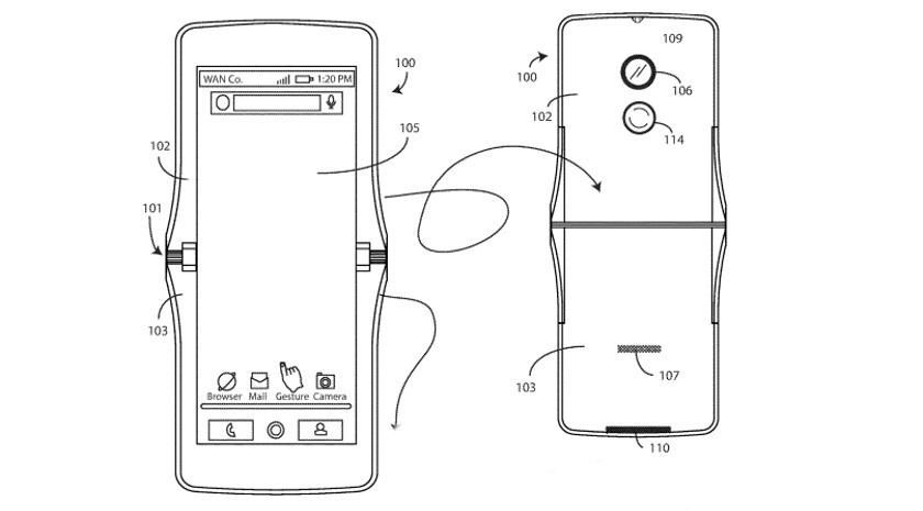 Motorola foldable phone: Here's how it will apparently use