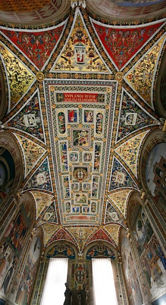 Siena Duomo Library Ceiling