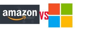 Logo Amazon et Microsoft