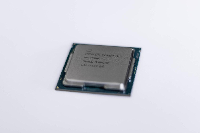 Une carte graphique Intel Core i9 9900k