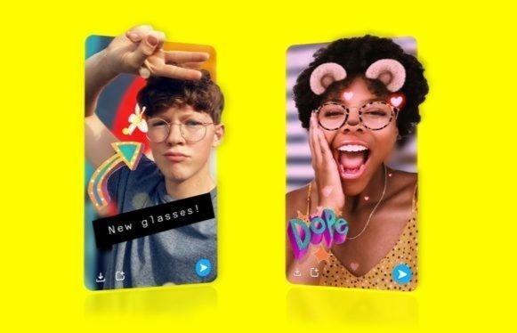 Snapchat: les snaps en 3D, le nouvel outil pour les selfies