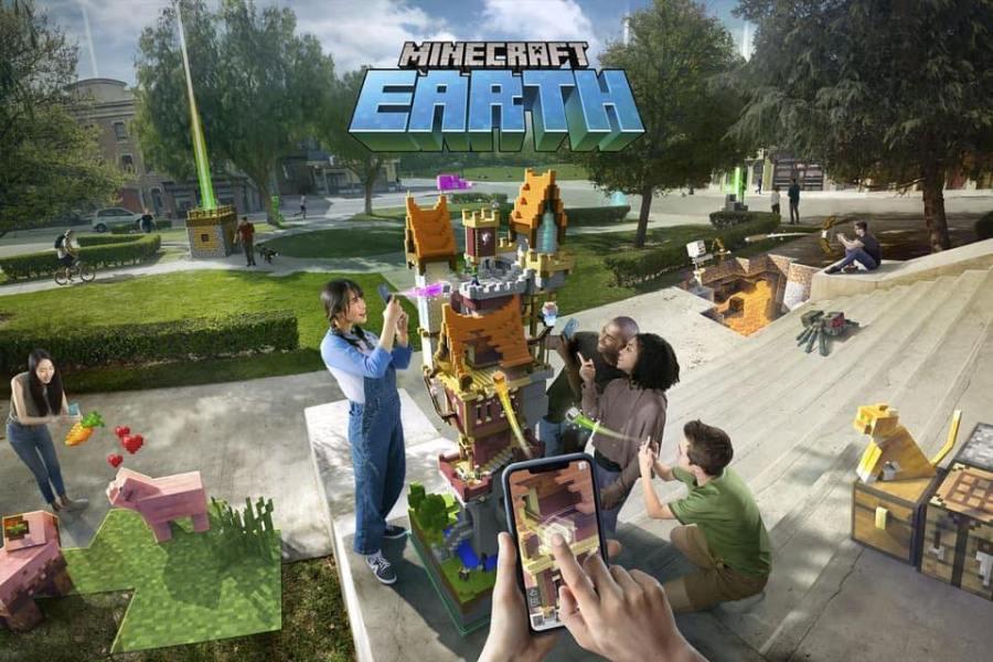 Minecraft Earth : un accès dès octobre sur Android et iOS