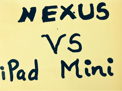 Why Nexus 7 2 is better than iPad Mini !