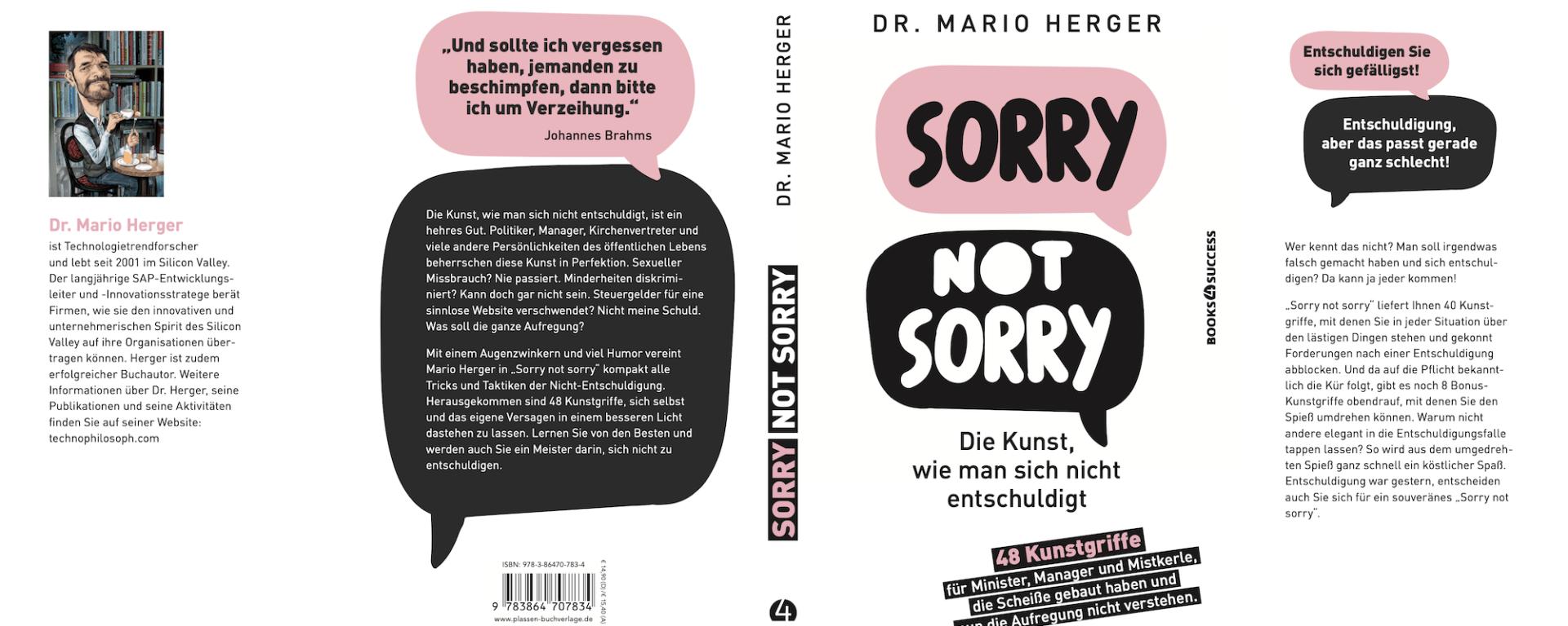 Sorry not Sorry: Die Kunst, wie man sich nicht entschuldigt