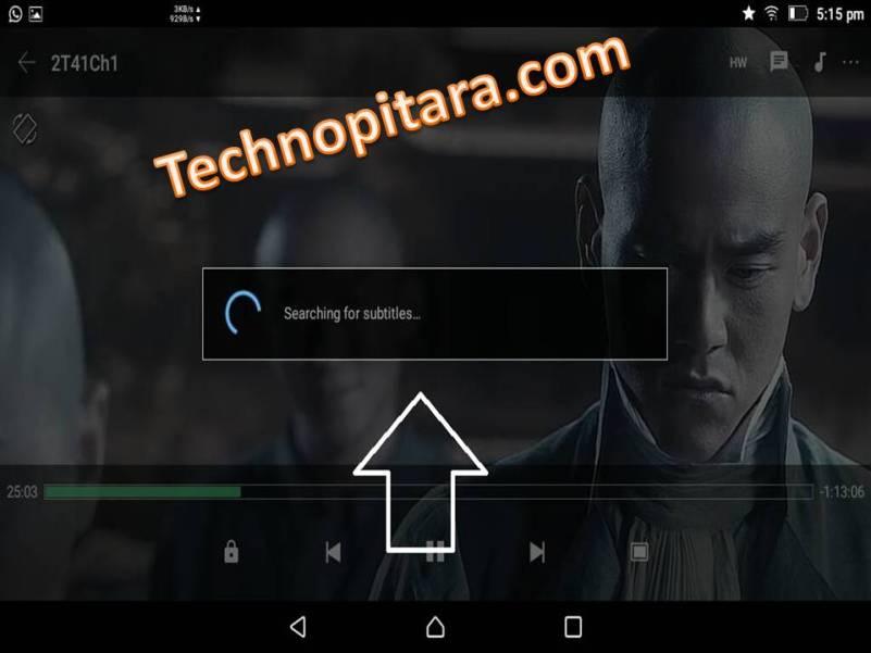 MX player Subtitle