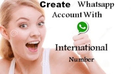 How to create whatsapp Account with fake US Number