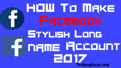 How to make stylish name on facebook profile