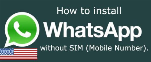 free virtual number for watsapp