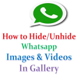 How to Hide WhatsApp Images from Gallery in Android