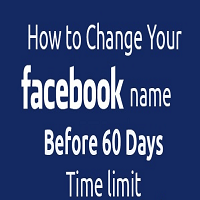How to Change Facebook Name after Name Limits Reached