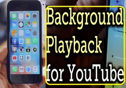 how to play youtube in background android