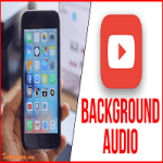 how to play youtube video in background