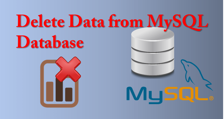 Delete Data from Mysql database using php