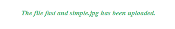 php photo upload
