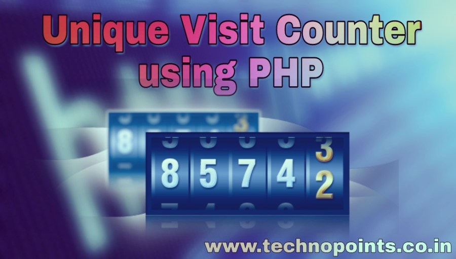 Unique Visit counter by Storing IP Address using PHP
