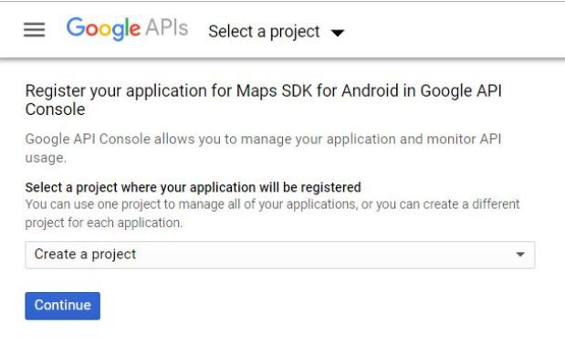maps activity in android