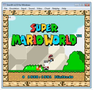 SNES9x Emulator for Windows
