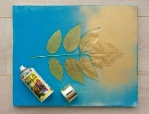 Spray Canvas Painting Idea for Kids & Beginners