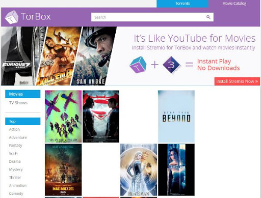 Torbox to download Movies