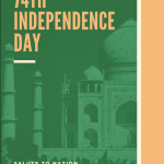 74th Independence Day Instagram Post