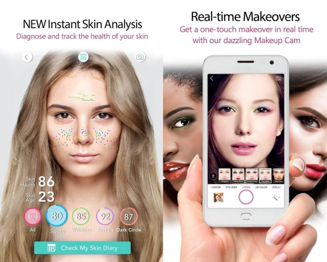YouCam Makeup Selfie Camera For PC