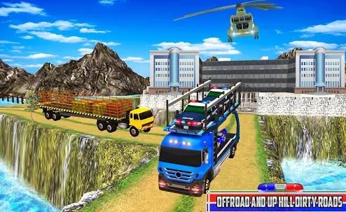 US Police Cargo Transport Vehicles