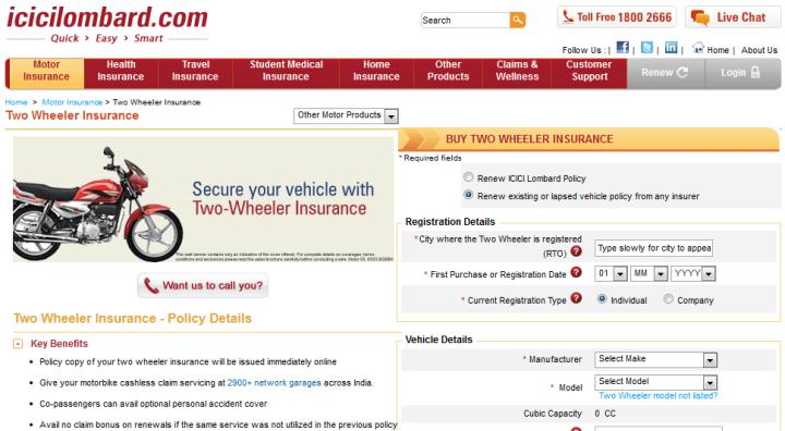 Icici Lombard Motor Insurance Policy Number Impremedia Net
