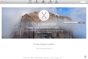 Yosemite upgrade and hack