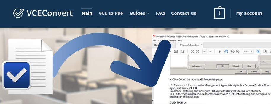 How To Open VCE File & Convert VCE to PDF : VCE to PDF