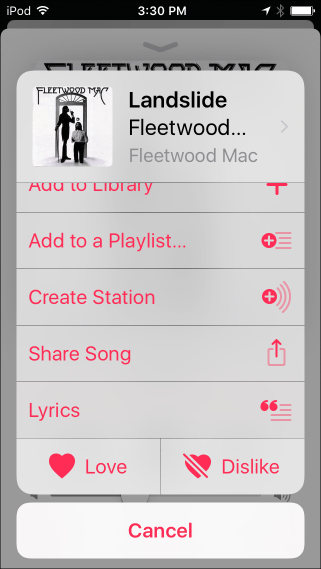 Lyrics feature is in built in iOS 10 update