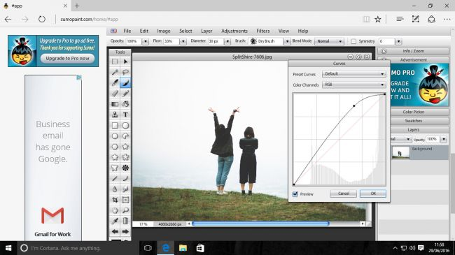 Sumo Paint Photoediting software