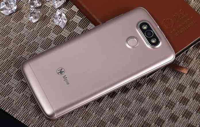 Mpie Z9 3G Phablet have dual camera