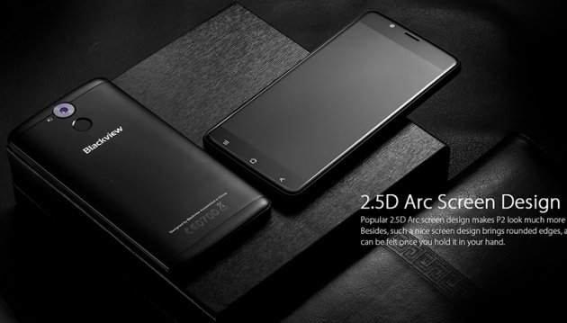 Blackview P2 4G Phablet Design review