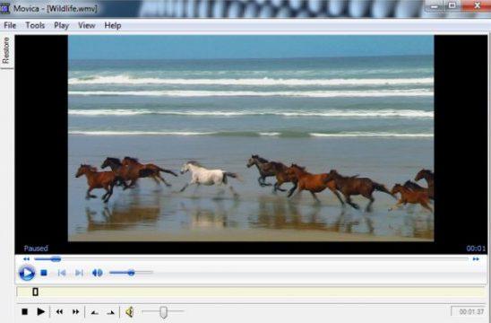 movica free video editor