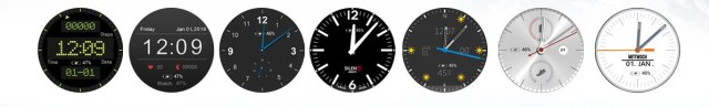 Different Dialer of No.1 D5+ Smartwatch