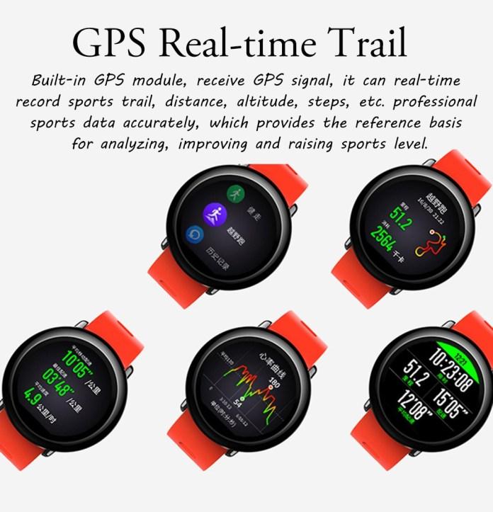 Xiaomi Amazfit Smartwatch GPS