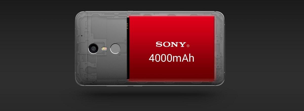 4000 mAh Battery in this phone