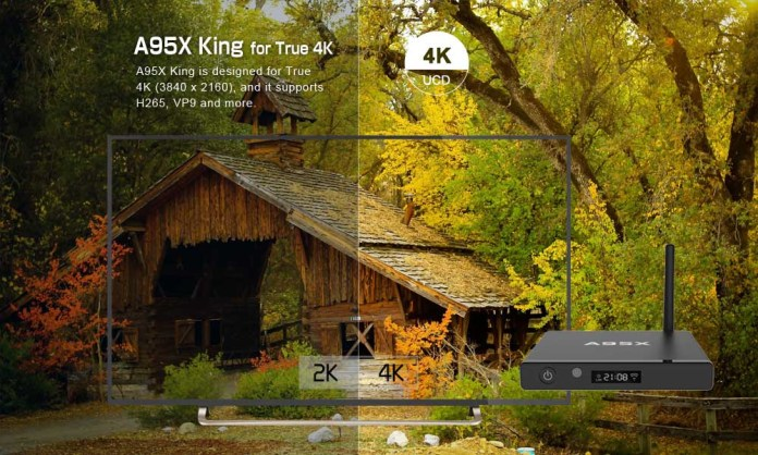 A95X King Android Portable Digital TV Box