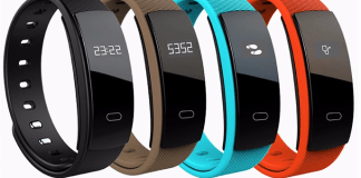 QS80 Heart Rate Smart Wristband