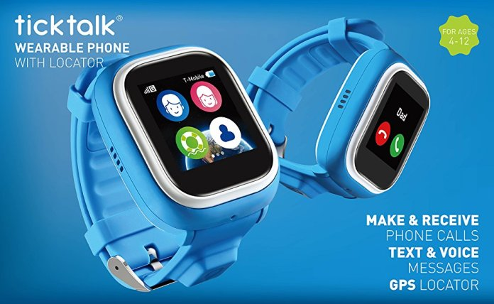 TickTalk 1.0S Touch Screen Kids Wearable