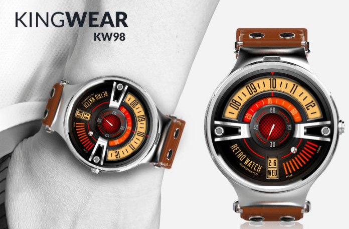 KingWear KW98 3G Smartwatch Phone