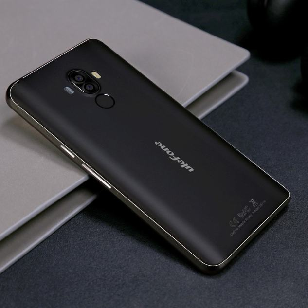 Back Side of Ulefone S8 Pro Smartphone
