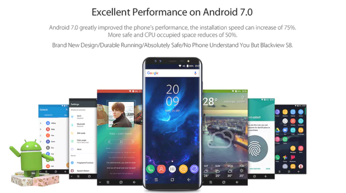 Blackview s8 review
