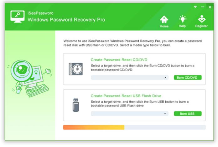 recover lost Windows 10 Password