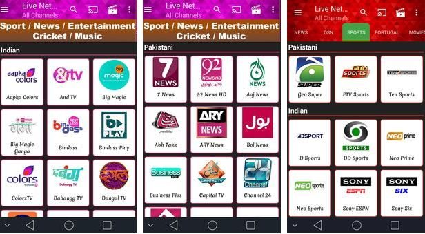 Live NetTv Apk: Download Live NetTv App For Android & iOS - Technosoups