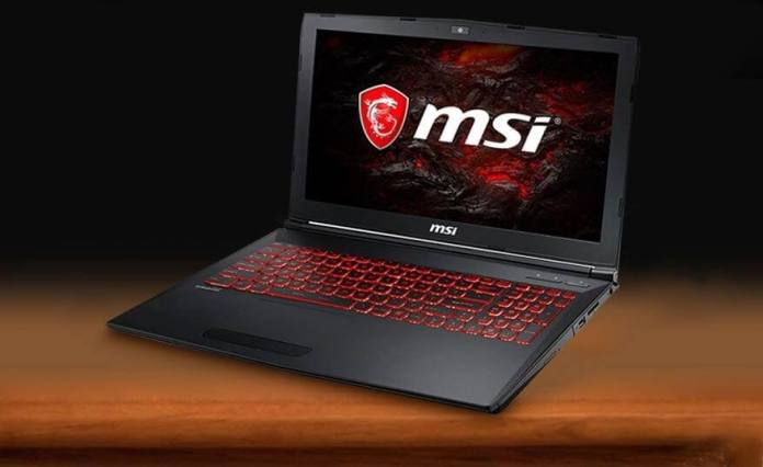 MSI GL62M 7REX-1252 Gaming Laptop