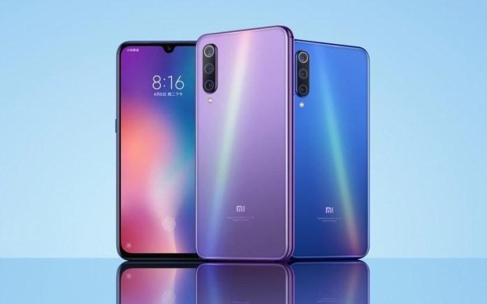 Xiaomi Mi 9X Design