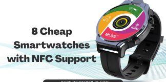 NFC Smartwatches 2021