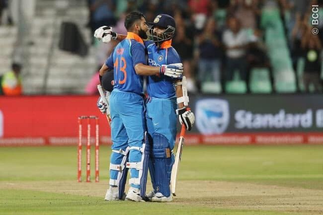 India won over South Africa