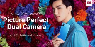Mi 6X or the Mi A2 with 20MP Camera out on April 25
